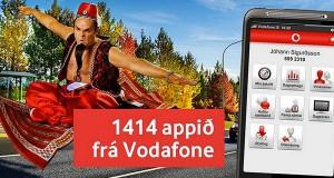 1414 appið frá Vodafone – iPhone og Android