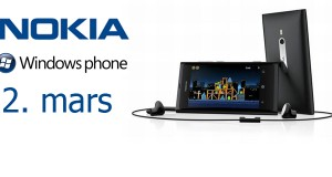 Nokia Lumia 800 lendir 2. mars