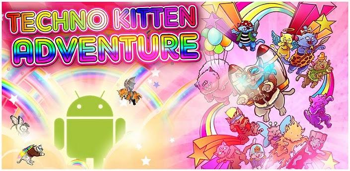 Angry birds hvað?! Techno Kitten Adventure – Myndband