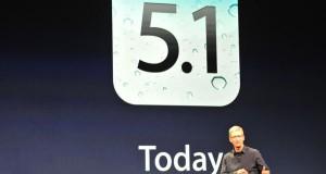 iOS 5.1 er komið út