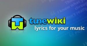Finndu sönglagatexta með TuneWiki