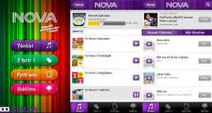 Nova appið – Hresst, skemmtilegt og nothæft app sem étur gagnamagn