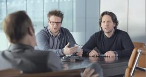 Seth Rogen og Paul Rudd með Super Bowl stiklu fyrir Samsung