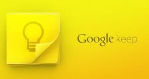 Google Keep – Minnismiðar og glósur í skýinu