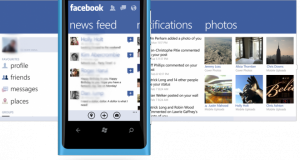 Facebook á Windows Phone uppfært