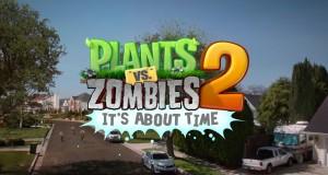Plants vs. Zombies 2 kemur út á iOS í dag