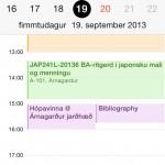 iOS 7 dagatal