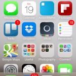 iOS 7 leit