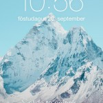Slide to unlock iOS 7