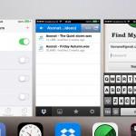 iOS 7 tasks
