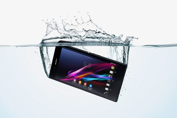 Sony-Xperia-Z-ultra-waterproof