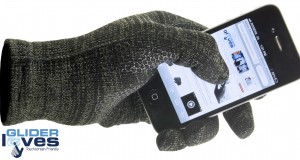 Glider Gloves: Alvöru snjallsímahanskar