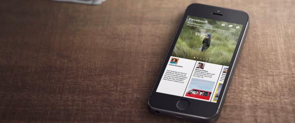 Facebook kynnir nýtt app: Paper