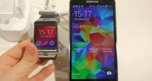 Galaxy S5 prófaður á MWC – Myndband