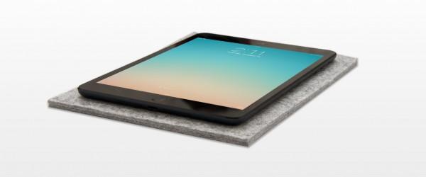Nedrelow iPad umslag: einföld vörn úr sjálfbærri ull