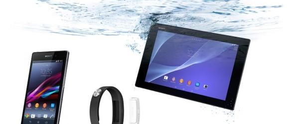 Sony kynnir snjallsíma, spjaldtölvu og fittness-armband á MWC 2014