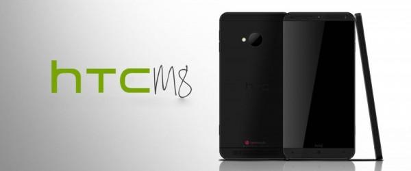 HTC One M8 tilkynntur