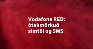 Ótakmörkuð símtöl og SMS á kostnað gagnamagns