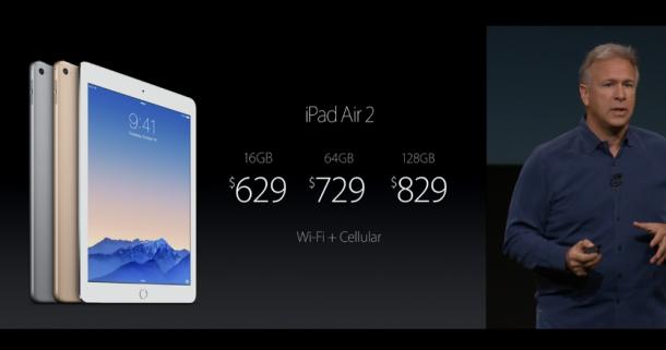 iPadAir2 farnets útgáfan