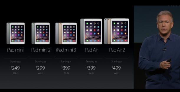 iPad vörulínan