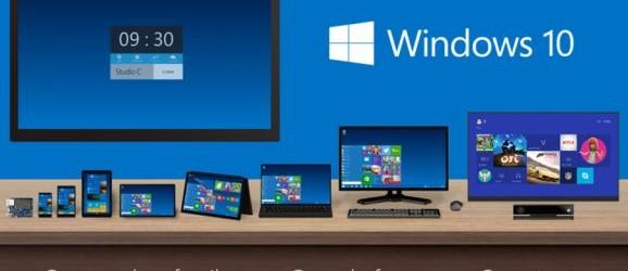 Windows 10 líka fyrir síma