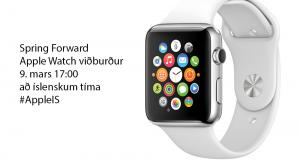 Apple Watch viðburður: Við hverju má búast?