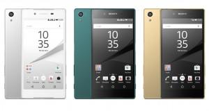 Sony kynnir þrjá Xperia Z5 síma