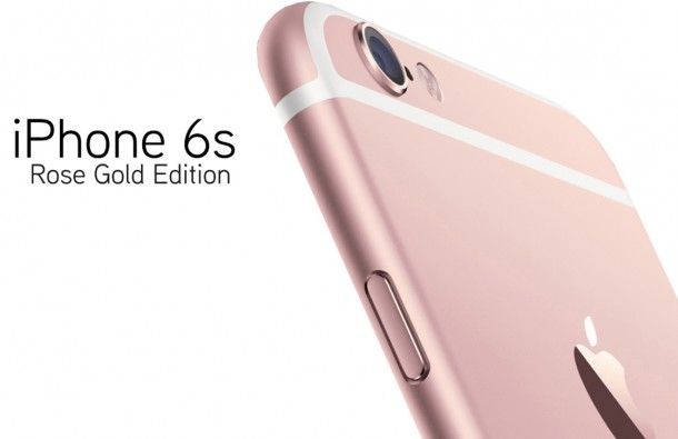 iPhone-6S rose gold