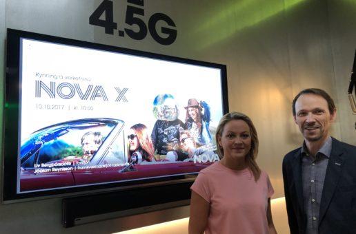 Nova fyrst í 4,5G